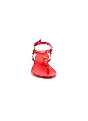 İnci Sandalet Kırmızı
